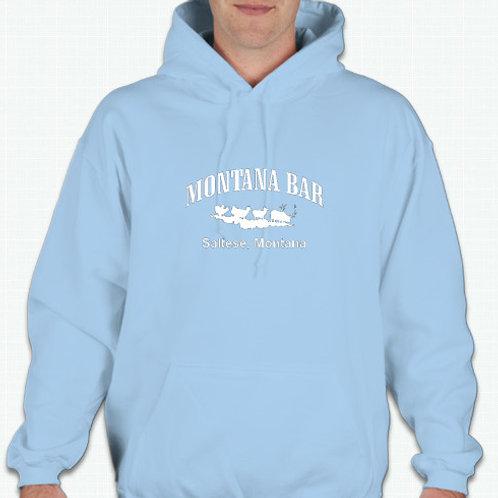 Powder blue hoodie