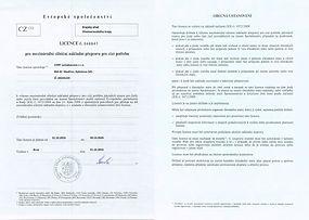 Licence pro mezinárodní silniční nákladní přepravu