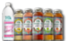 Humakind Organic Bottled Water, Strawberry Lemonade, Sweet Tea, Jasmine Lime Green Tea, Peach Tea