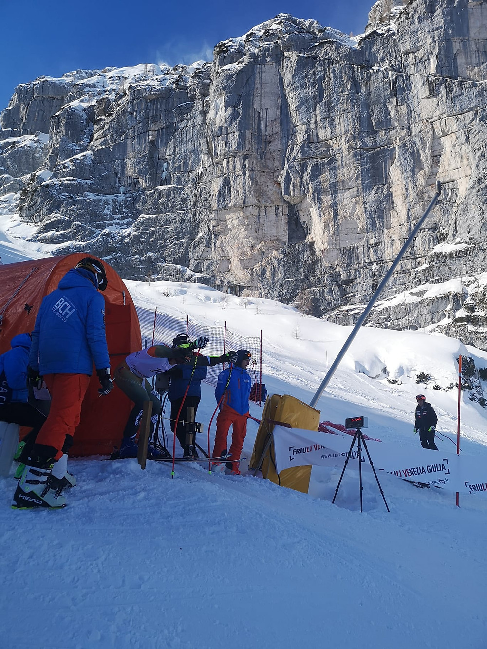 Sella Nevea Super G Europacup