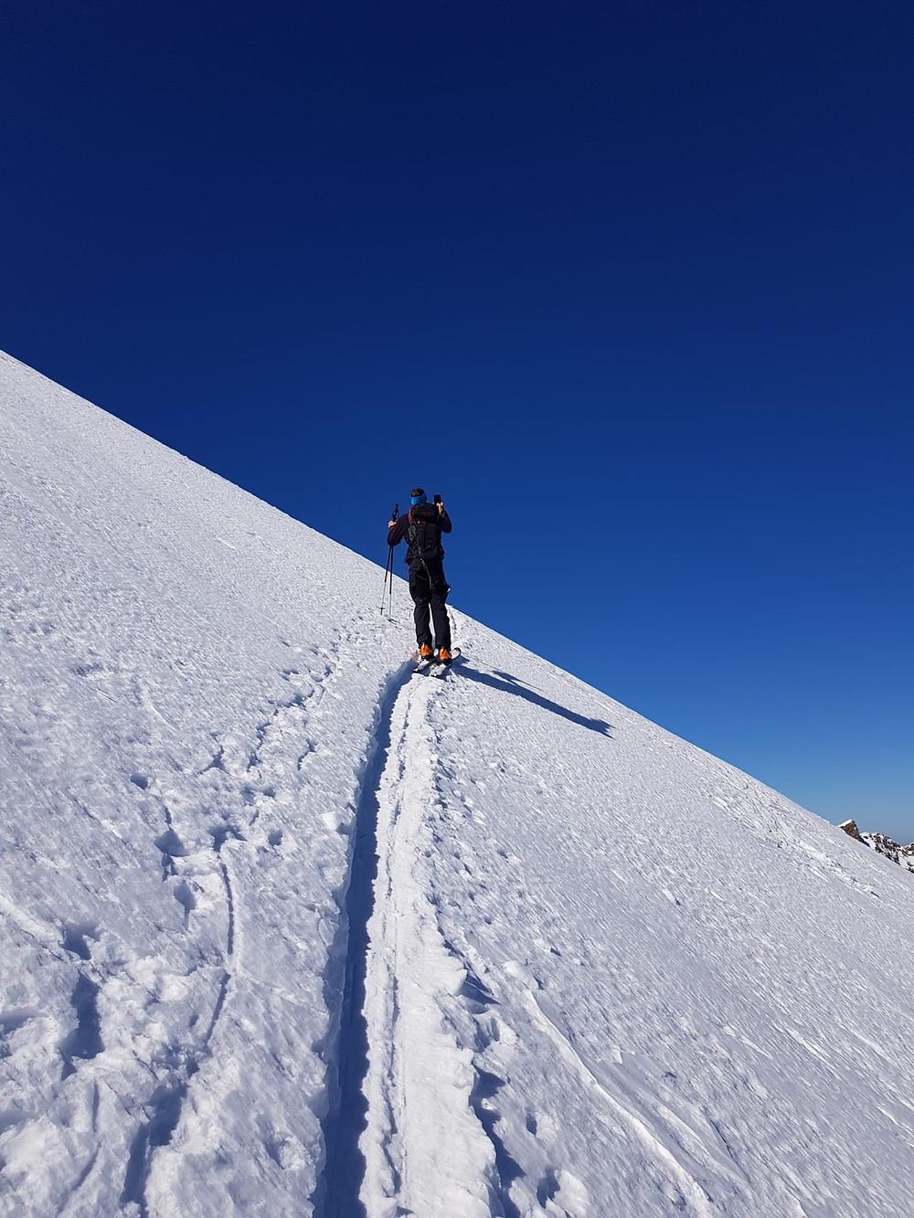 Skitour Schwarzhorn