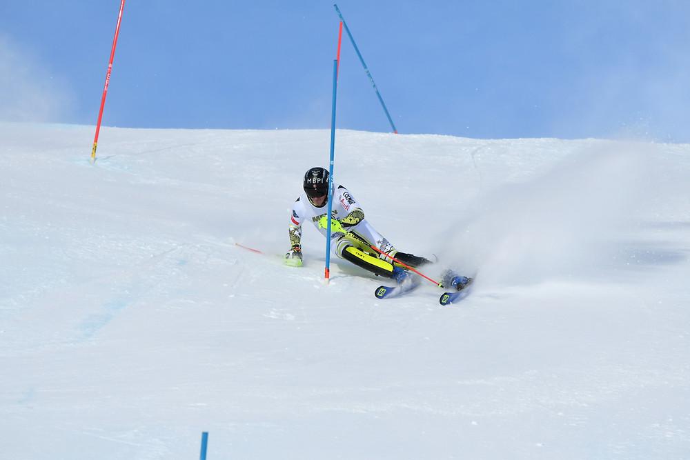 Nico Gauer Slalom Zinal
