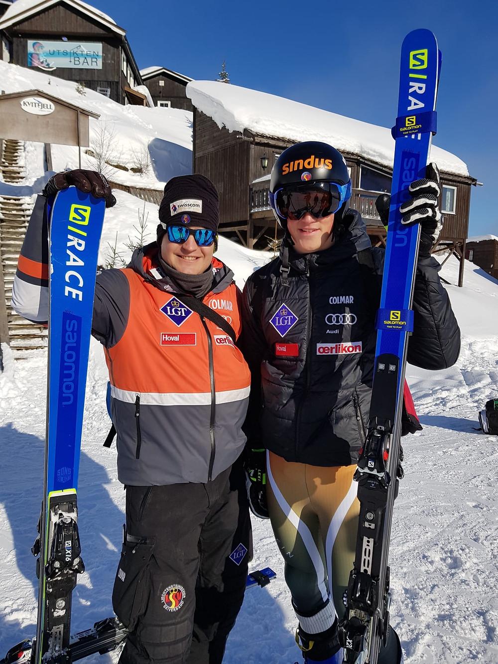Nicola Kindle und Nico Gauer