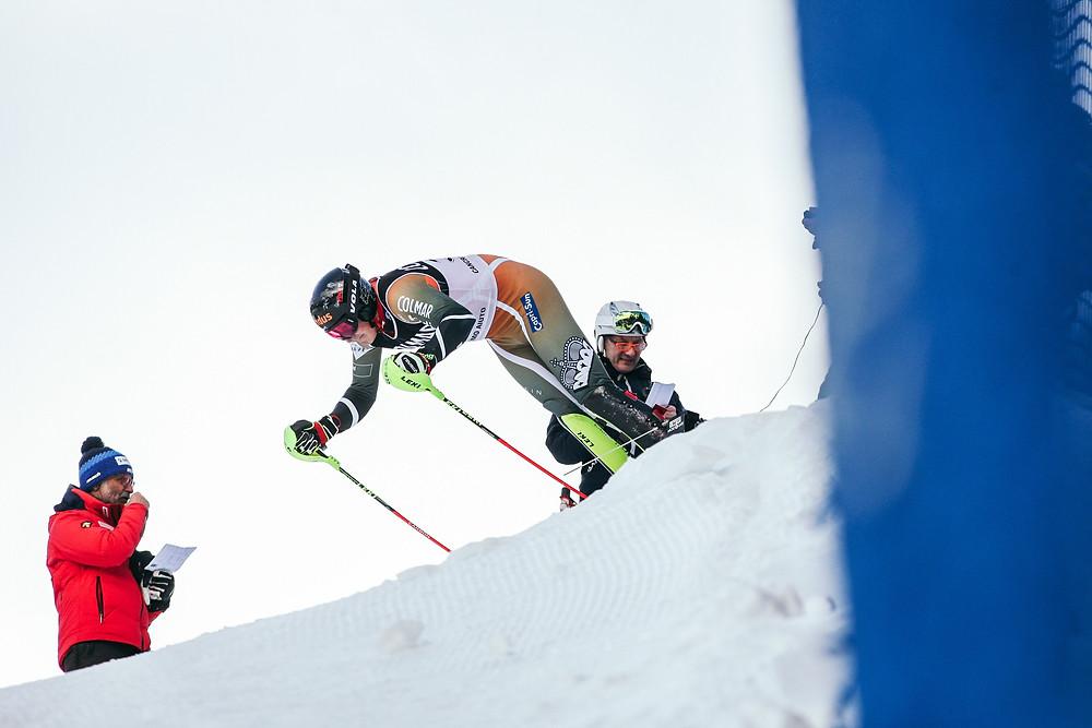 Nico Gauer Slalom Santa Caterina Europacup