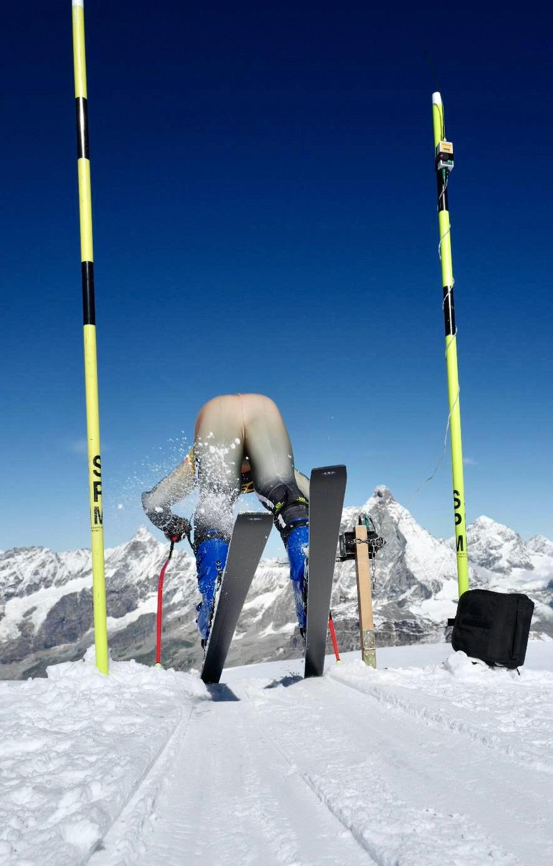 Nico Gauer Zermatt Start