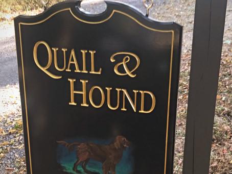 Quail and Hound:  The Name