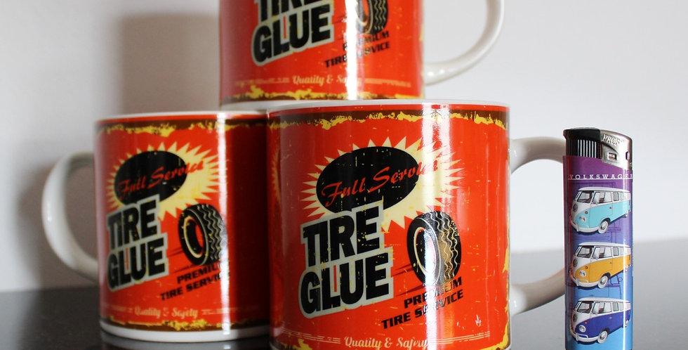 Tire glue mok