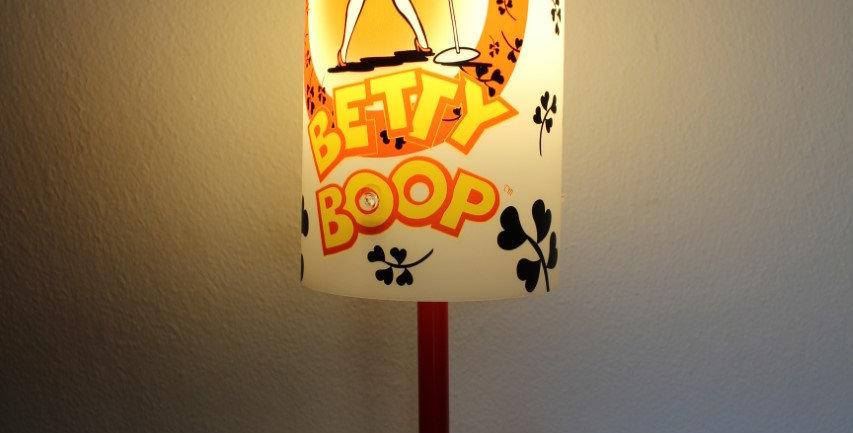 Betty Boop lamp standaard