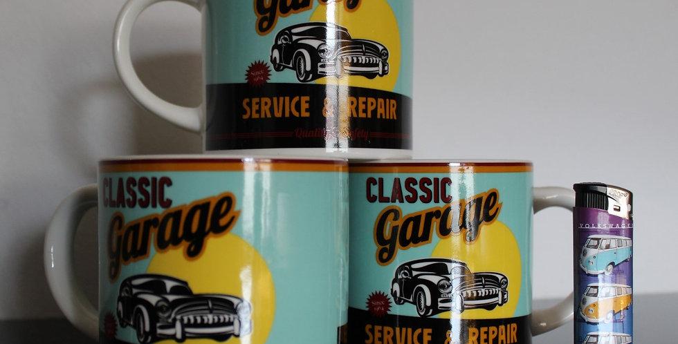 Classic garage mok