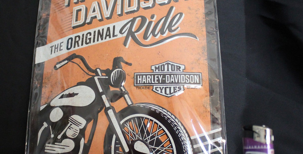 Collector metal sign Harley davidson original