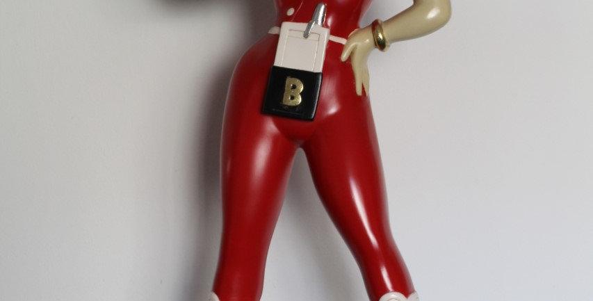 Betty Boop roller waiter