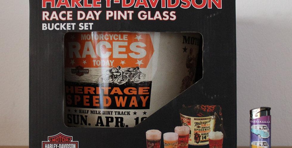 Harley Davidson pint glas
