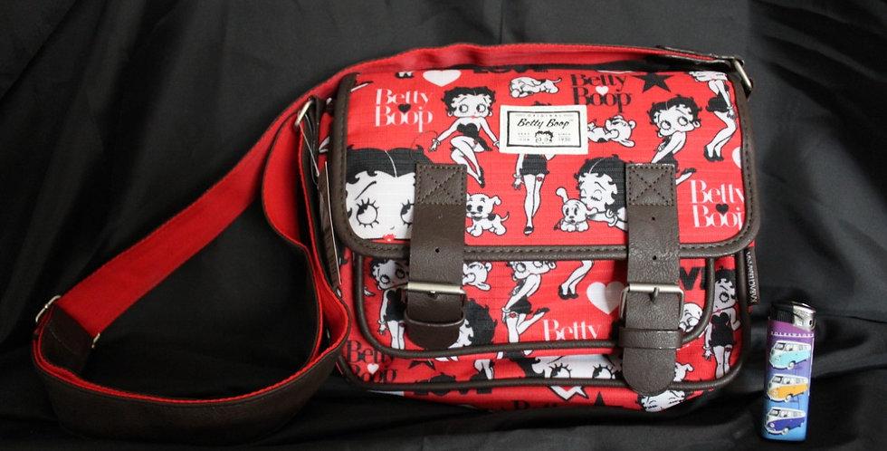 Betty boop gespel tas (rood)