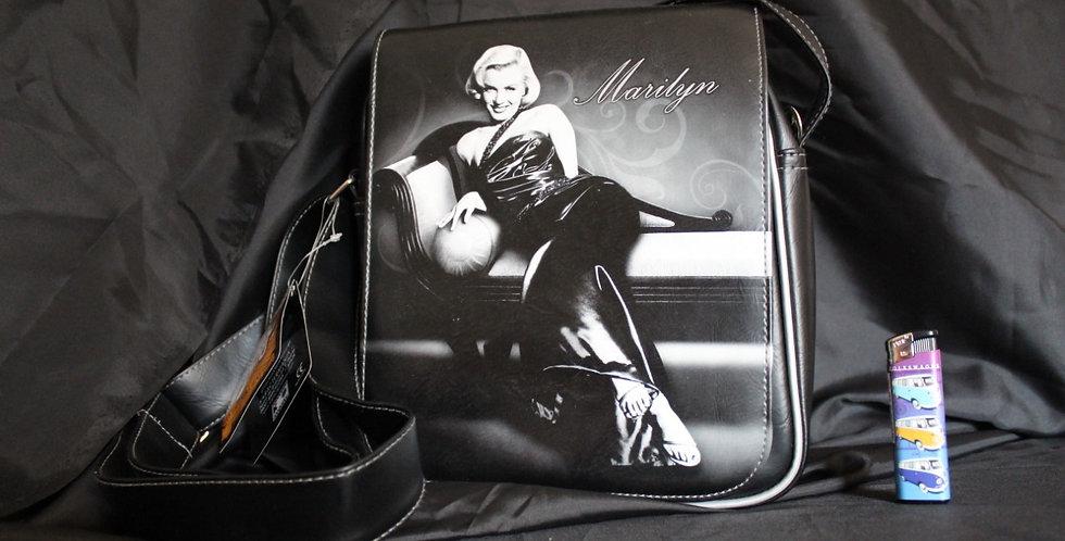 Marilyn Monroe tas zwart wit