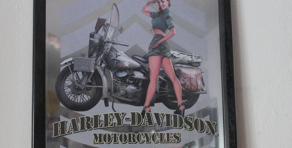 Harley Davidson motorcycles Army