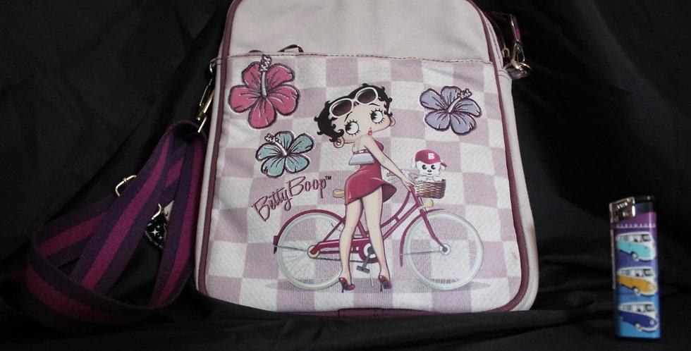 Betty boop bicycle tasje