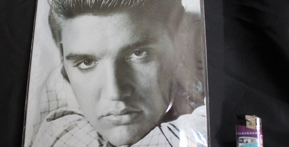 Collector metal sign Elvis presley