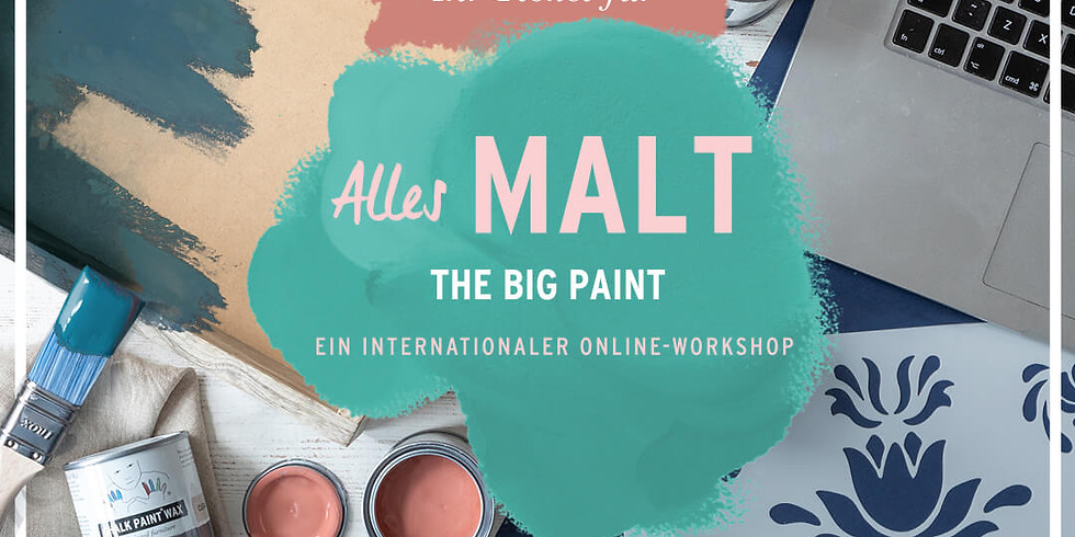Annie Sloan Big Paint Online Workshop!