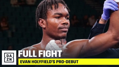 FULL FIGHT   Evander Holyfield's Son, Evan, Makes Pro-Debut