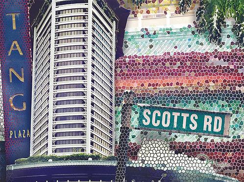 Scotts Road Place mat