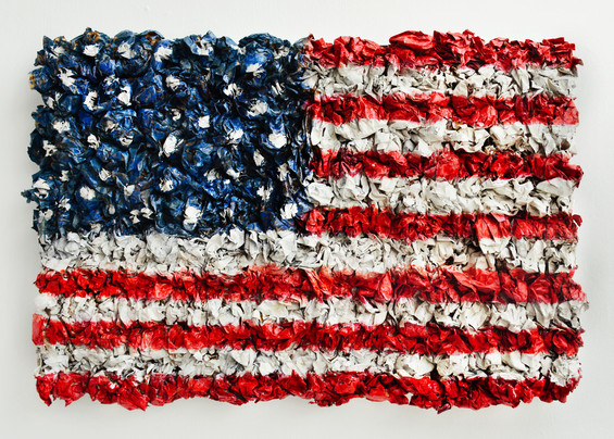 What History is Made of (Tribute to Jasper Johns)
