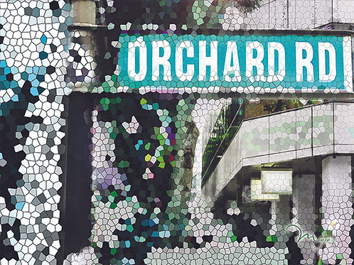 Orchard Road Place mat