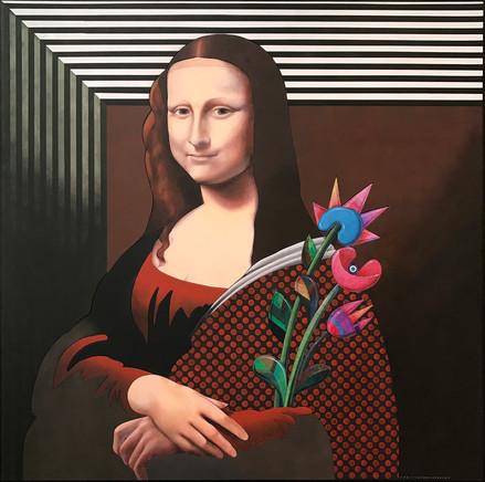 Mona Lisa (Cardo, Papavero, Tulipano)