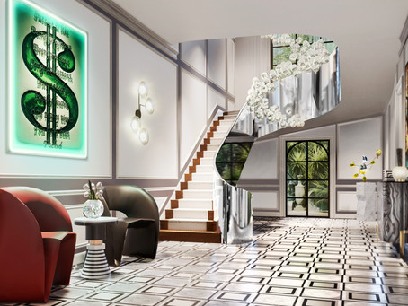 Designing Homes - 'The Penrose Staircase' - Ascending and Descending...by Isabelle Miaja