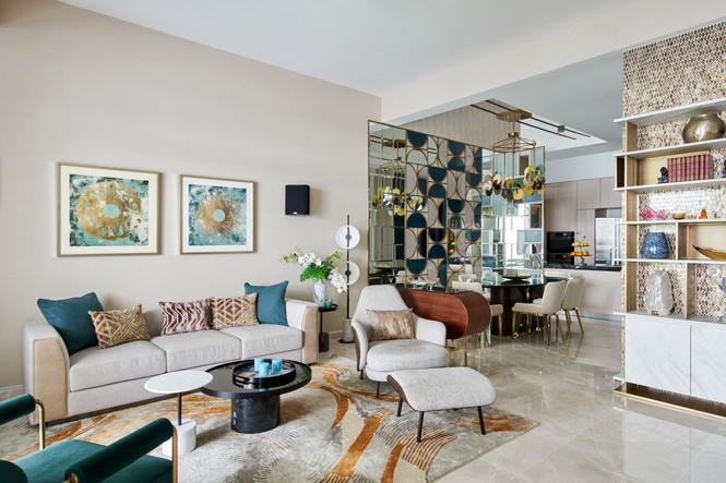 Luxus Hills View - Living Area
