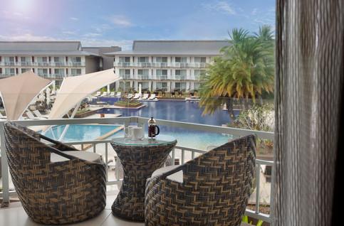 Pullman Nadi Bay Resort & Spa - Poolside