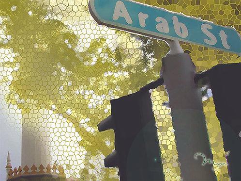 Arab Street Place mat