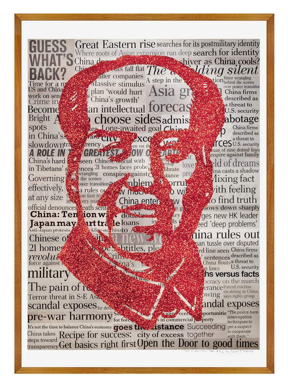 Glittered Mao