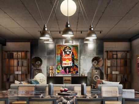 Designing Homes 'Gen-Z Effect' - Modern Grunge Loft...by Julian & Severine Miaja