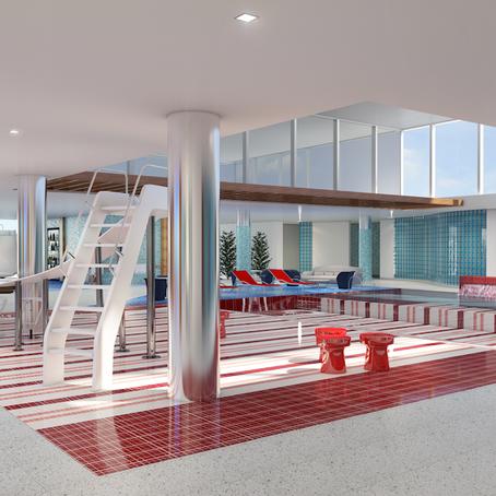 """""""La Piscine"""" Design Concept for  The Holiday Inn Express Baruna, Bali."""