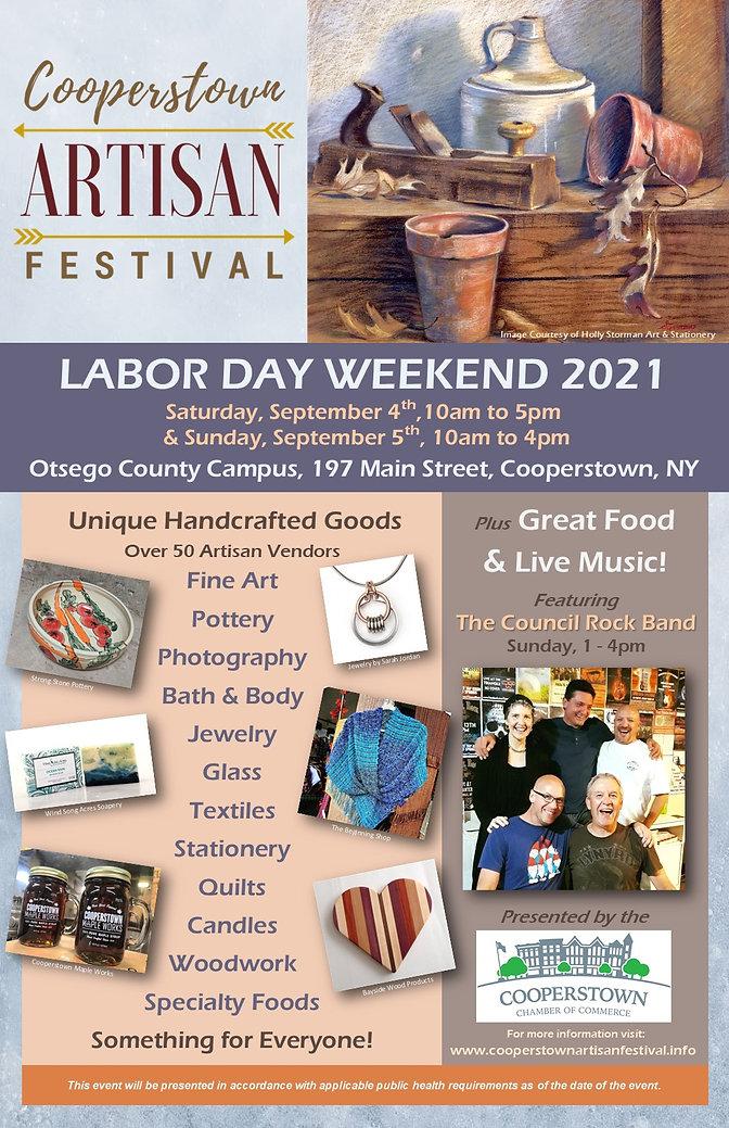 2021 Cooperstown Artisan Festival