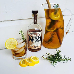 Title No 21 Rosemary Iced Tea Punch