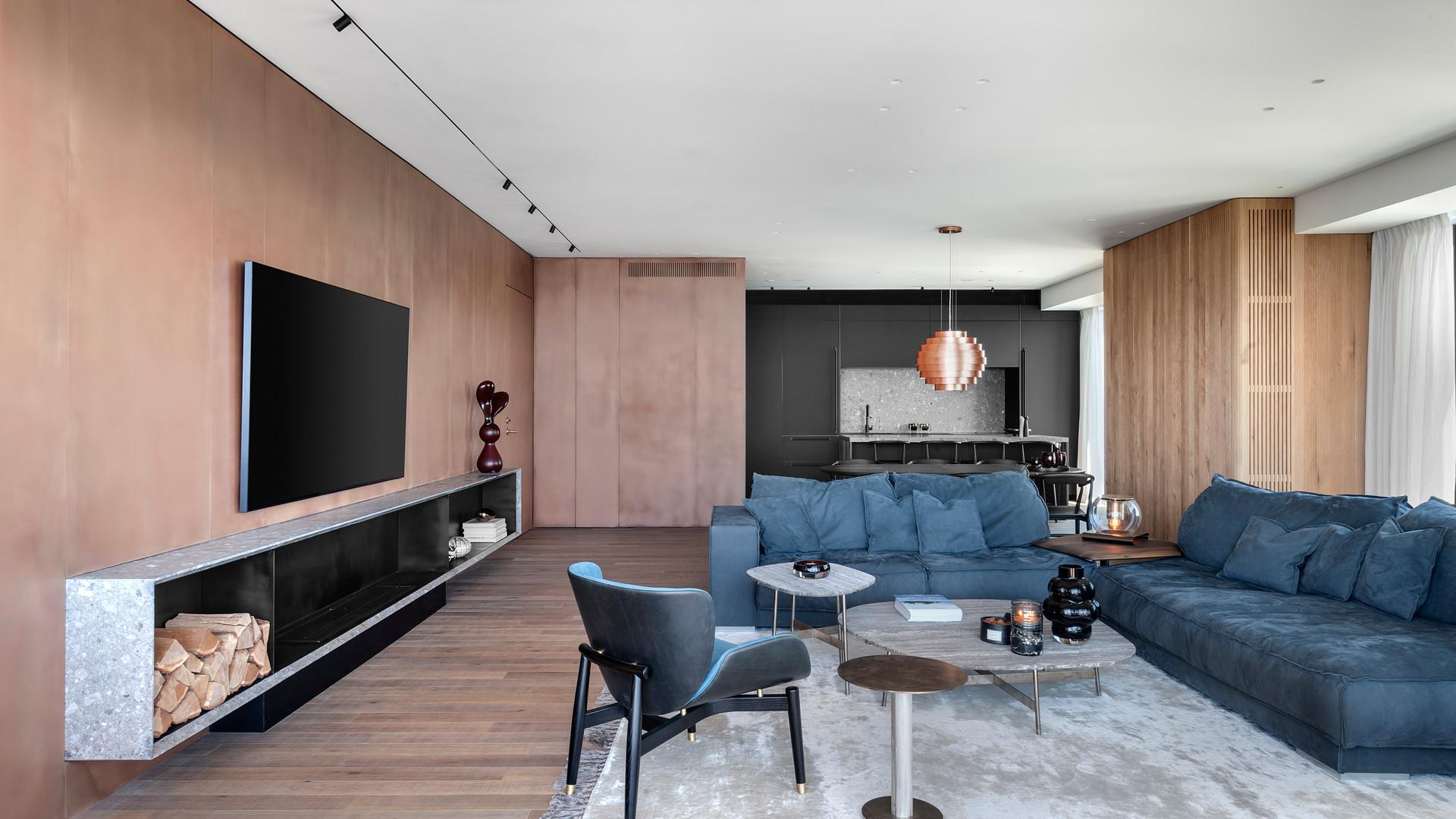 BLUSH - Apartment in Tel Aviv. Photographer : Oded Smadar.