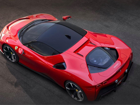 Ferrari announce first PHEV