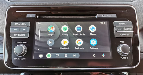Nissan LEAF ZE1 'Connect' Head Unit (Japanese to English Conversion)