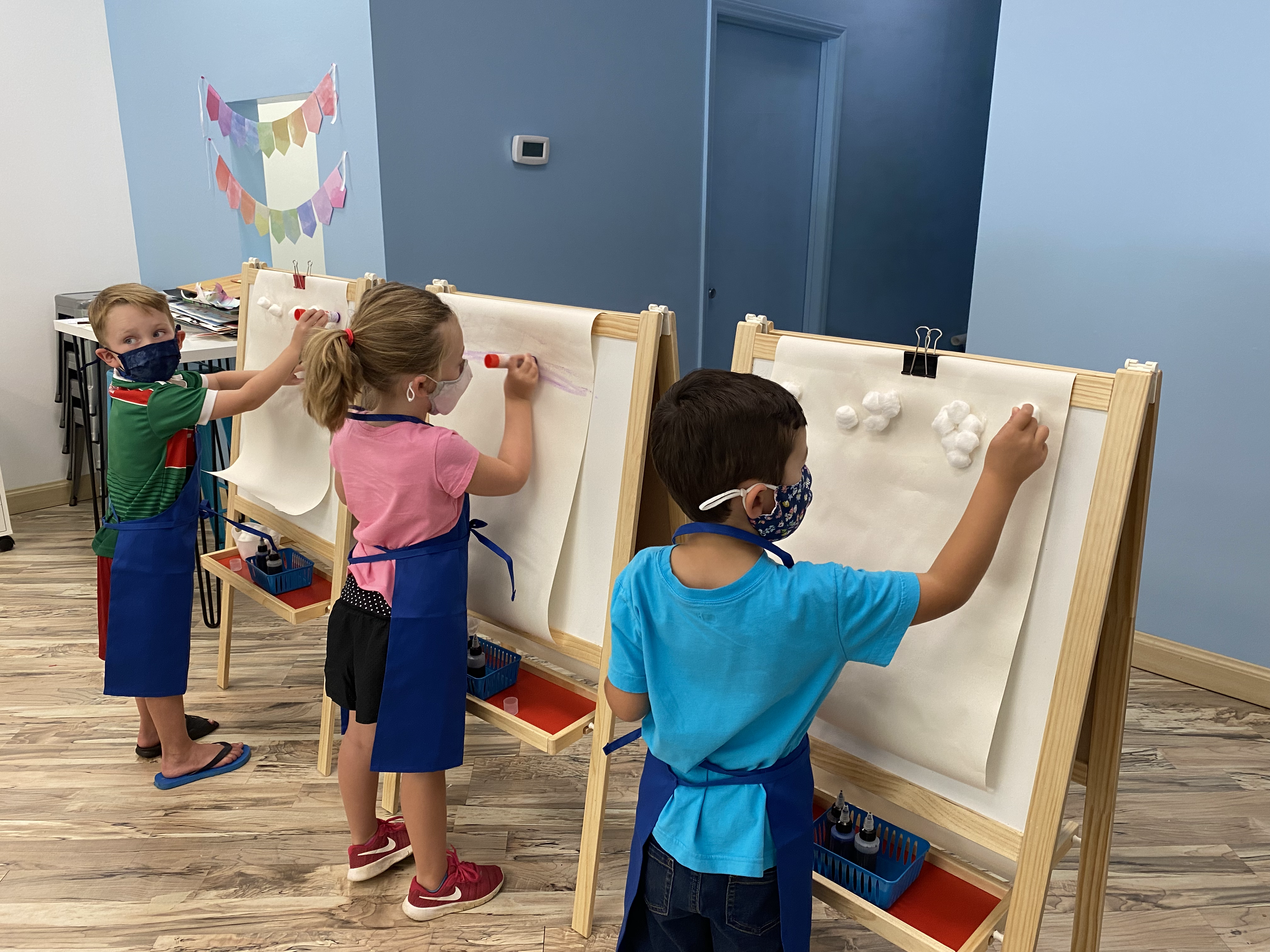 Artsy Play (ages 2-5)