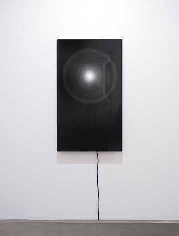 KAIRÓS, 2020, 90X160cm. Impresión Fine Art con inyección de pigmentos minerales sobre papel traslúcido en caja de aluminio retroiluminada con sistema de iluminación progresiva. Edición de 3 + 2 P.A.