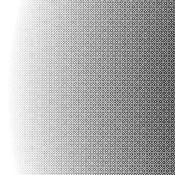 QAMAR, 2020. Detalle. Esfera eterea a partir del orden de cien mil cuadrardos ordenados y superpuestos a la manera de patrones gemétricos decorativos.