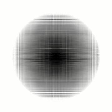 LUNA, 2018, 110X110cm. Impresión Fine Art con inyección de pigmentos minerales sobre papel Hahnemühle 100% algodón Photo Rag Ultra Smooth de 305g. Edición de 5 + 2 P.A.