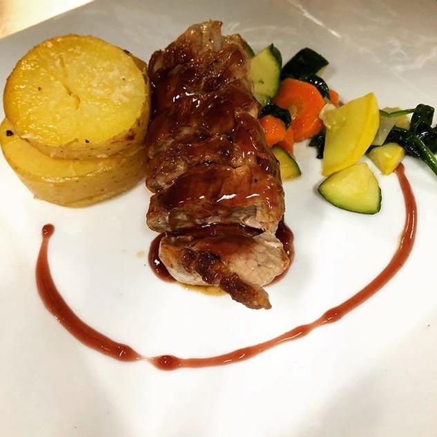 __Wednesday Special__ Pork tenderloin gl