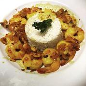 Shrimp Mozambique 🍴  #food #shrimp #moz