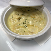 Bacalhau com Natas. Sautéed cod in mashe