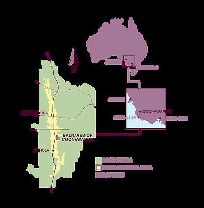 Coonawarra Map