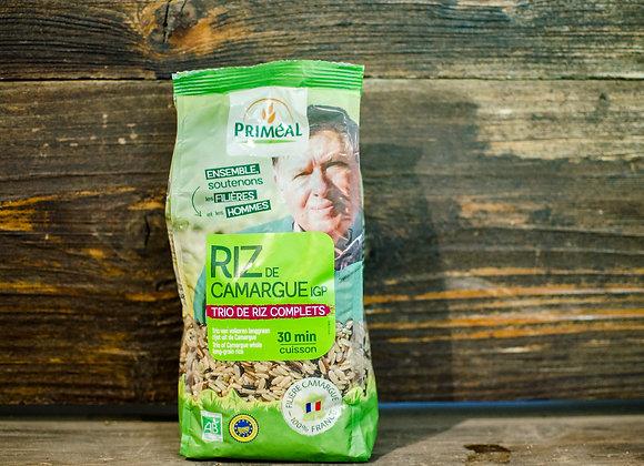 Trio de riz complet de Camargue