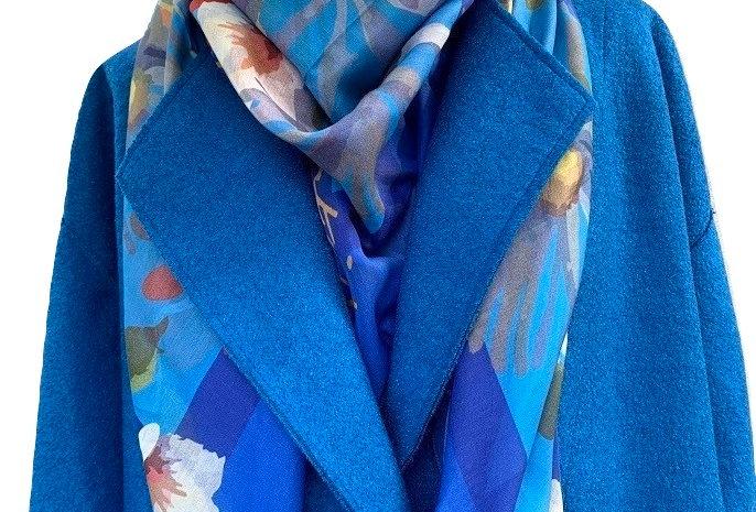 Electric Blu coat