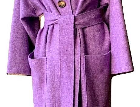 Soft Lavander Trench Coat